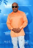 Daymond John, entrepreneur and Star of ABC Shark Tank, at the red carpet before US Open 2014 opening night ceremony Stock Photography