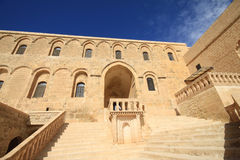 Dayrulzaferan Monastery in Mardin City Stock Photos