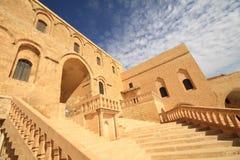 Dayrulzaferan Monastery in Mardin City Stock Image