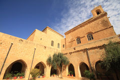 Dayrulzaferan Monastery in Mardin City Royalty Free Stock Photo
