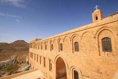 Dayrulzaferan Monastery in Mardin City Royalty Free Stock Image