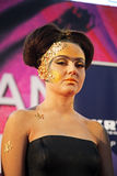 Days of Beauty and Fitness,Stardust make-up contest,Zagreb,Croatia,46 Royalty Free Stock Photography