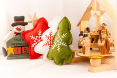 15 days at Christmas. Decorations Royalty Free Stock Image