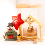5 days at Christmas. Decorations Royalty Free Stock Photos