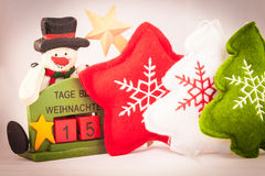 15 days at Christmas Stock Photography