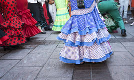 Days fair in Fuengirola Spain Stock Image