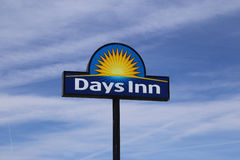 Days inn sign. A sign from the motel chain Days Inn stock photography