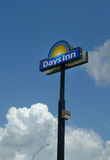 Days Inn signage in Sallisaw, OK Stock Images