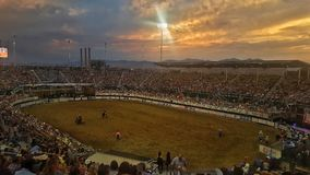 Days of 47 Rodeo Royalty Free Stock Image