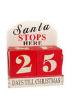 25 Days to Christmas Stock Photos
