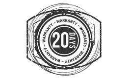 20 days warranty classic retro design icon. 20 days best warranty classic retro design icon vector illustration