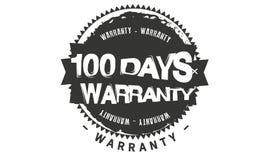 100 days warranty classic retro design icon. 100 days best warranty classic retro design icon vector illustration