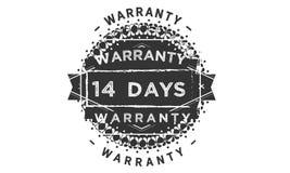 14 days warranty classic retro design icon. 14 days best warranty classic retro design icon stock illustration