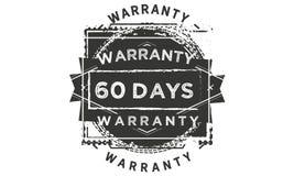 60 days warranty classic retro design icon. 60 days best warranty classic retro design icon stock illustration