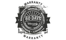 60 days warranty design vintage,best stamp collection. 60 days warranty design,best black stamp illustration stock illustration