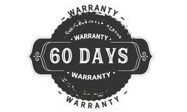 60 days warranty design vintage,best stamp collection. 60 days warranty design,best black stamp illustration vector illustration