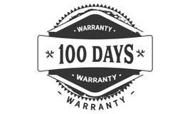 100 days warranty design vintage,best stamp collection. 100 days warranty design,best black stamp illustration vector illustration