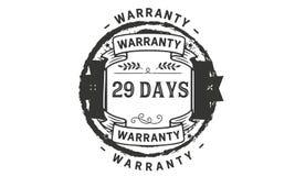 29 days warranty illustration design stamp badge icon. 29 days warranty illustration design stamp badge illustration icon vector illustration