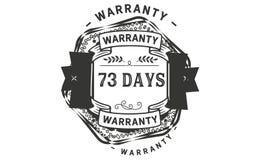 73 days warranty illustration design stamp badge icon. 73 days warranty illustration design stamp badge illustration icon vector illustration