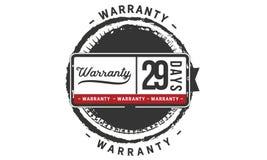 29 days warranty illustration design stamp badge icon. 29 days warranty illustration design stamp badge illustration icon stock illustration