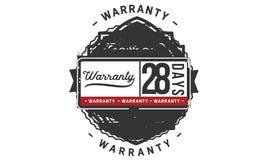 28 days warranty illustration design stamp badge icon. 28 days warranty illustration design stamp badge illustration icon stock illustration