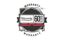 60 days warranty illustration design stamp badge icon. 60 days warranty illustration design stamp badge illustration icon vector illustration