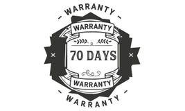 70 days warranty illustration design stamp badge icon. 70 days warranty illustration design stamp badge illustration icon vector illustration