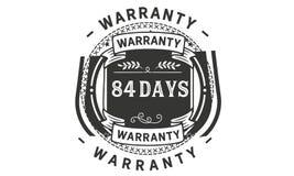 84 days warranty illustration design stamp badge icon. 84 days warranty illustration design stamp badge illustration icon vector illustration