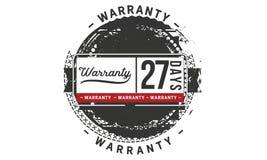 27 days warranty illustration design stamp badge icon. 27 days warranty illustration design stamp badge illustration icon vector illustration