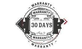 30 days warranty illustration design stamp badge icon. 30 days warranty illustration design stamp badge illustration icon royalty free illustration