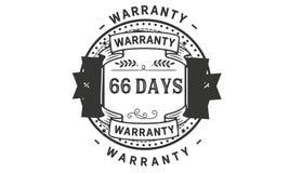 66 days warranty illustration design stamp badge icon. 66 days warranty illustration design stamp badge illustration icon vector illustration