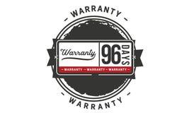 96 days warranty illustration design stamp badge icon. 96 days warranty illustration design stamp badge illustration icon royalty free illustration