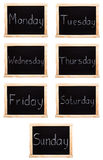 Days of the week Stock Photos