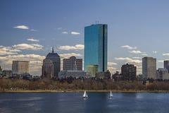 Daytime in Boston Royalty Free Stock Photos