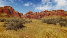 Daytime canyon scenery Stock Photos