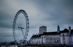 Daytime long exposure London Eye Royalty Free Stock Photo