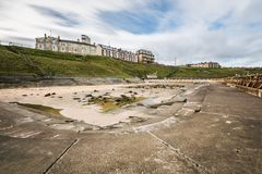 Tynemouth outdoor Swimming Pool Royalty Free Stock Photos