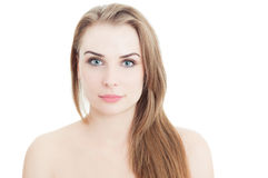 Daytime natural look with make-up concept Royalty Free Stock Photo