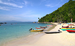 Daytime at Perhentian Island Stock Image