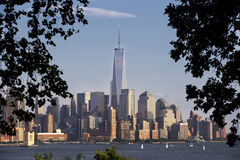 Daytime Photo of New York City Skyline Royalty Free Stock Photo