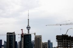 Daytime Photos of Toronto Ontario Royalty Free Stock Photography