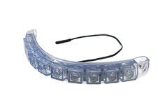 Daytime running lights Stock Photo