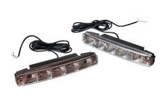 Daytime running lights Stock Photography