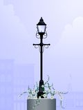 Daytime streetlamp Stock Photo