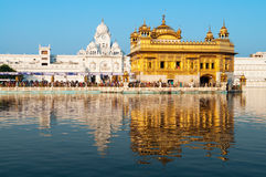 Daytime view of Golden Temple Royalty Free Stock Images