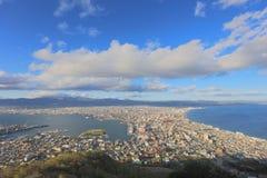 Daytime view of Hakodate, Hokkaido, Japan. Stock Photo