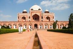 Daytime view of Humayun's Tomb, Delhi, India Stock Photos