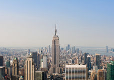 Daytime View New York Skyline Royalty Free Stock Photo