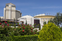 A daytime view of Omnia at Caesars Palace. Royalty Free Stock Image