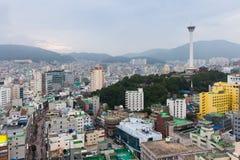 Daytime view over Busan, Korea Stock Photo